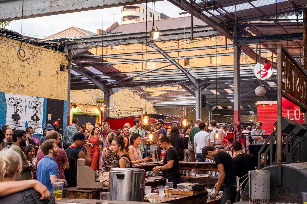 Dalston Food Market, Dalston, London
