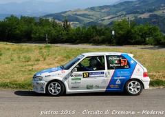 057-DSC_6406 - Peugeot 106 Rallye - N2 - De Cecco valerio-De Cecco Amalia - Just Race ASD (pietroz) Tags: photo nikon foto photos rally fotos di pietro circuito cremona zoccola pietroz d300s