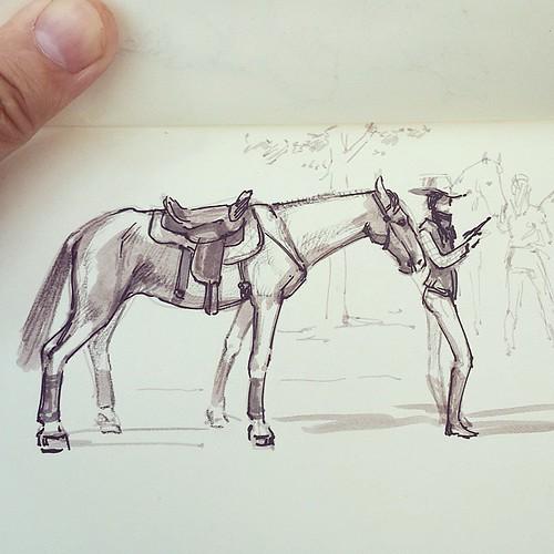 И еще лошадей )