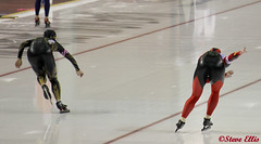 World Cup Kearns Ice Oval Japan vs Canada finish close up 2-19-2011 (steveellis12) Tags: wordcup