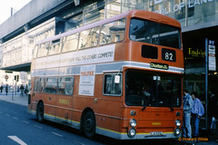 Bee Line 1644 (XJA 525L) (SelmerOrSelnec) Tags: beeline leyland atlantean parkroyal xja525l manchester mosleystreet ribble selnec gmt bus