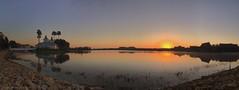 Sunrise Sunday (Thanks for over 2 million views!!) Tags: reflections pano panoramic panorama iphonese iphone scenic sky sun water sevenseaslagoon disneyspolynesianvillageresort waltdisneyworld sunrise chadsparkesphotography
