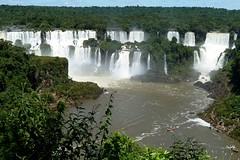 Iguazu / Iguacu Falls Brasil / Argentina (roli_b) Tags: wasser wasserfall fall falls cataratas iguazu iguacu waterfalls brasil brazil brasilien argentina travel tourism turismo viajar south america 2011 landscape