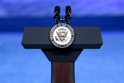 Vice Presidential podium
