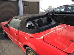 McLaren Mustang/Capri ASC Verdeck 1984 - 1990 Montage