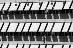 'Just Because' No. 18 (Canadapt) Tags: building windows canopys shade shadow pattern graphic bw stockholm sweden canadapt