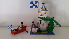 New Imperial Outpost (影Shadow98) Tags: lego 6265 imperial outpost soldier officer classic pirates