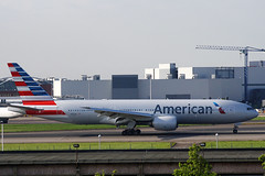 Boeing B772 American Airlines N782AN 6-5-13 (Not that grumpy) Tags: american boeing airlines b772 n782an