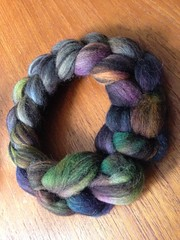 Shunklies humbug Jacob (super0ddity) Tags: stash spinning fibre