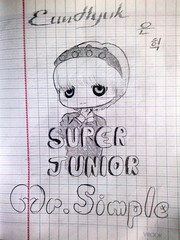 EunHyuk - Mr. Simple (ELF_Jewel_luv_suju_eunhyuk) Tags: cute mr 5 album chibi super fanart lee sj junior vol simple 5th jae vol5 hyukjae hyuk suju mrsimple eunhyuk