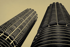 I Got a Box Full of Letters, Plate 2 (Thomas Hawk) Tags: usa chicago architecture illinois unitedstates unitedstatesofamerica marinatowers cookcounty chicagoland windycity bertrandgoldberg fav10