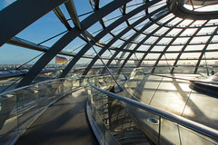 Reichstag Dome Interior IV (Paul 'Tuna' Turner) Tags: city travel vacation holiday berlin history architecture germany deutschland europe eu parliament historic reichstag german dome government historical bundestag mitte tiergarten europeanunion houseofparliament deutsch sirnormanfoster historicbuilding capitalcity neoclassicalarchitecture paulwallot germangovernment neobaroquearchitecture