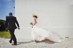 The Bride (SusieShoots) Tags: wedding white love bride cornwall veil wind marriage weddingdress fatherofthebride assistantphotographer mariannetaylorphotography susieshootscouk
