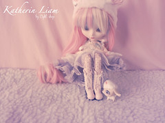 Hello there!! (light_shop) Tags: cute outfit rainbow doll handmade wig pullip lollipop kiyomi snowwhite obitsu dessita