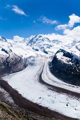 Gornergrat Glacial River (BrentMacLean) Tags: mountains switzerland glacier gornergratt zermatt