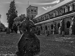 Grave Stone - St Albans (Scrufftie) Tags: uk england church canon cathedral unitedkingdom hertfordshire stalbans churchofengland saintalbans lightroom4 canonpowershotg15