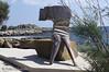 Sappho sculpture (FotisKalai) Tags: sculpture island greek aegean sappho eressos αιγαίο ερεσόσ