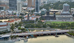 Esplanade Bridge (chooyutshing) Tags: construction singapore inprogress marinabay pedestrianwalkway esplanadebridge newfootbridge