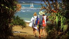 ... un Salento Hawaiano (FranK.Dip) Tags: sea italy beach italia mare low cost turismo salento puglia spiaggia vacanza vacanze turisti brindisi oasi naturale tranquillit spettacolare torreguaceto areamarinaprotetta frankdip riservanaturaledellostato