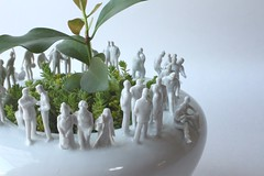 (anewdawnanewday) Tags: sculpture flower ceramics pot pottery