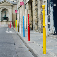 Plots colors (Thomas Rombauts) Tags: street paris france color colour colors square colorful europe iledefrance rgionparisienne parisregion