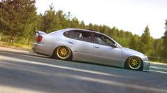 Lexus (Jussi Rajala) Tags: work finland big suspension nps air wheels bags meet lexus stance pori yyteri 2013