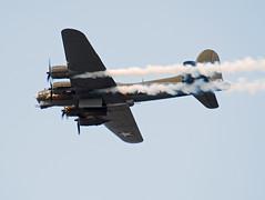G-BEDF B-17G Flying Fortress (Irish251) Tags: show city ireland dublin flying aviation air september b17 boeing fortress iaa sallyb flypast b17g 2013 gbedf flightfest
