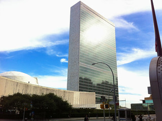 New york - UN building