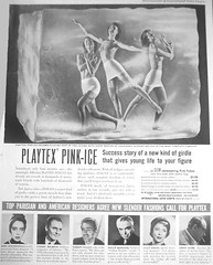 45 1951 (Undie-clared) Tags: girdle playtex pinkice