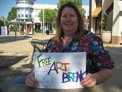 2013 Art Break Day in Rogers, AR (artismoving) Tags: art freeart communityartproject artbreakday