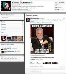 Chavo Tweets a Heelbook meme