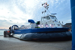 Island Express (PD3.) Tags: uk travel england ferry island craft hampshire solent portsmouth express isle wight southsea hover hovercraft iow ryde hants hovertravel