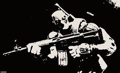 P7106964 B (THE AMAZING KIKEMAN) Tags: man castle america frank photography james iron action bruce steve banner spiderman superior peter captain figure legends wilson barton hawkeye wade clint rogers hulk logan thor marvel stark universe parker avengers wolverine punisher howlett deadpool hitmonkey