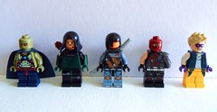 DC Characters: A Tricky Bunch (-{Peppersalt}-) Tags: city justice war comic lego batman characters arrow dccomics gotham league superheros villians minifigures peppersalt
