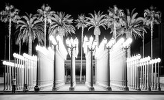 Night Lights – 'Urban Light' // Los Angeles, California (William Woodward aka wheretowillie) Tags: california travel summer usa monochrome architecture losangeles cityscape santamonica roadtrip northamerica 5star williamwoodward wheretowillie