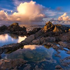 Tidepools Maui Style (mojo2u) Tags: ocean sunset hawaii maui kapalua tidepools nikon2470mm nikond800 onelona