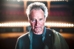Sam Shepard (TGKW) Tags: portrait people west true lights sam theatre bokeh expression glasgow stage actor director philip shepard citizens breen playwright 0671