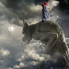 notre dame (l u d y c o) Tags: angel venus gothic goth luna nike notredame fullmoon gargoyle fleurdumal toureiffel devil venere wingedvictory wingedvictoryofsamothrace moonvenus vittoriaalata angeliedemoni doccione nostrasignora lesanges nikedisamotracia ifioridelmale lunaevenere bistdubeimir sullorlodiunprecipiziomiinvitiadessoagiocare parissurlaterrequiestunastre angesetdmons jetesalueyves