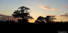 Shropshire Sunset. (Bob.W) Tags: sunset shropshire mygearandme mygearandmepremium mygearandmebronze mygearandmesilver mygearandmegold mygearandmeplatinum