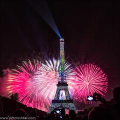 Libert, Egalit, Fraternit (peteroshkai) Tags: paris france tower tour fireworks landmark eiffel celebration matchpointwinner mpt319