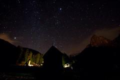 ...where do we dwell... (Paolo Polesana) Tags: sky stars wideangle cielo grandangolo dolomiti stelle