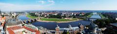 Dresden-Neustadt Panorama (picture_addicted) Tags: panorama castle history germany deutschland dresden zwinger pano saxony nikond50 sachsen schloss altstadt frauenkirche 2009 elbe geschichte neustadt panoramicview pictureaddicted