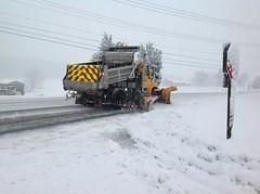 SHA Plow (StateMaryland) Tags: winter snow plow sha plowing mdsha