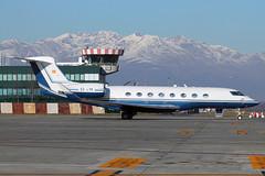 Private G650 (Paolins92) Tags: airlinersnet trn businessjet turinairport g650 limf torinocaselle gulfstreamg650 planespottersnet aeroportoditorinocasellesandropertinitrn eclyk
