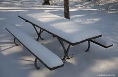 Happy Bench Monday - HBM! (JSB PHOTOGRAPHS) Tags: ranch snow bench monday dorris hbm dsc0710
