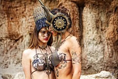 IMG_9859 (Mondomac) Tags: sexy film fashion desert modeling models makeup bodypainting wardrobe bodyart behindthescenes filmmaking styling bts onset