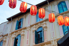 (nzfisher) Tags: building asian singapore chinatown traditional culture lantern cultural