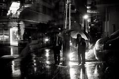 Roppongi. (Davide Filippini ) Tags: people blackandwhite bw monochrome rain japan umbrella tokyo blackwhite lluvia pessoas gente chuva pluie menschen personas persone tquio  roppongi  japo umbrellas pioggia paraguas japon personnes giappone regen  regenschirme tokio  japn          parapluies ombrelli guardachuvas  nhtbn        tokyomonochrome  japanblackandwhite  davidefilippini japanstreetphotography tokyostreetphotography japanmonochrome tokyoblackandwhite fujifilmx100         x100