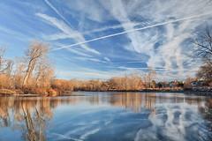 Boise River (darwinfan) Tags: river fan day darwin panasonic idaho boise greenbelt 1445 gf1 fandarwin pwpartlycloudy