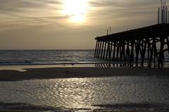 The Claremont Pier and North Sea, Lowestoft (Kirkleyjohn) Tags: light sun luz beach water licht pier suffolk waves lumière lux luce lowestoft lumen beachphotography claremontpier